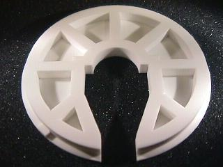 50 mm diameter alumina ceramic component